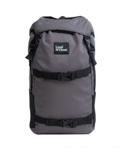 LOUDANDCLEAR - Backpack Loudandclear - Grey