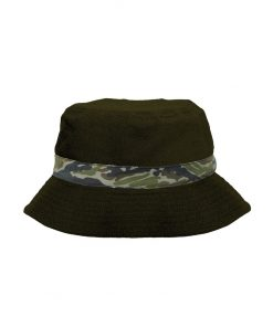 LOUDANDCLEAR - Cap Buckethat Loudandclear 2 GREEN ARMY
