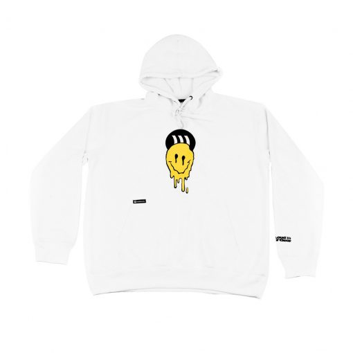 LOUDANDCLEAR - Hoodie Smile Loudandclear Official - White